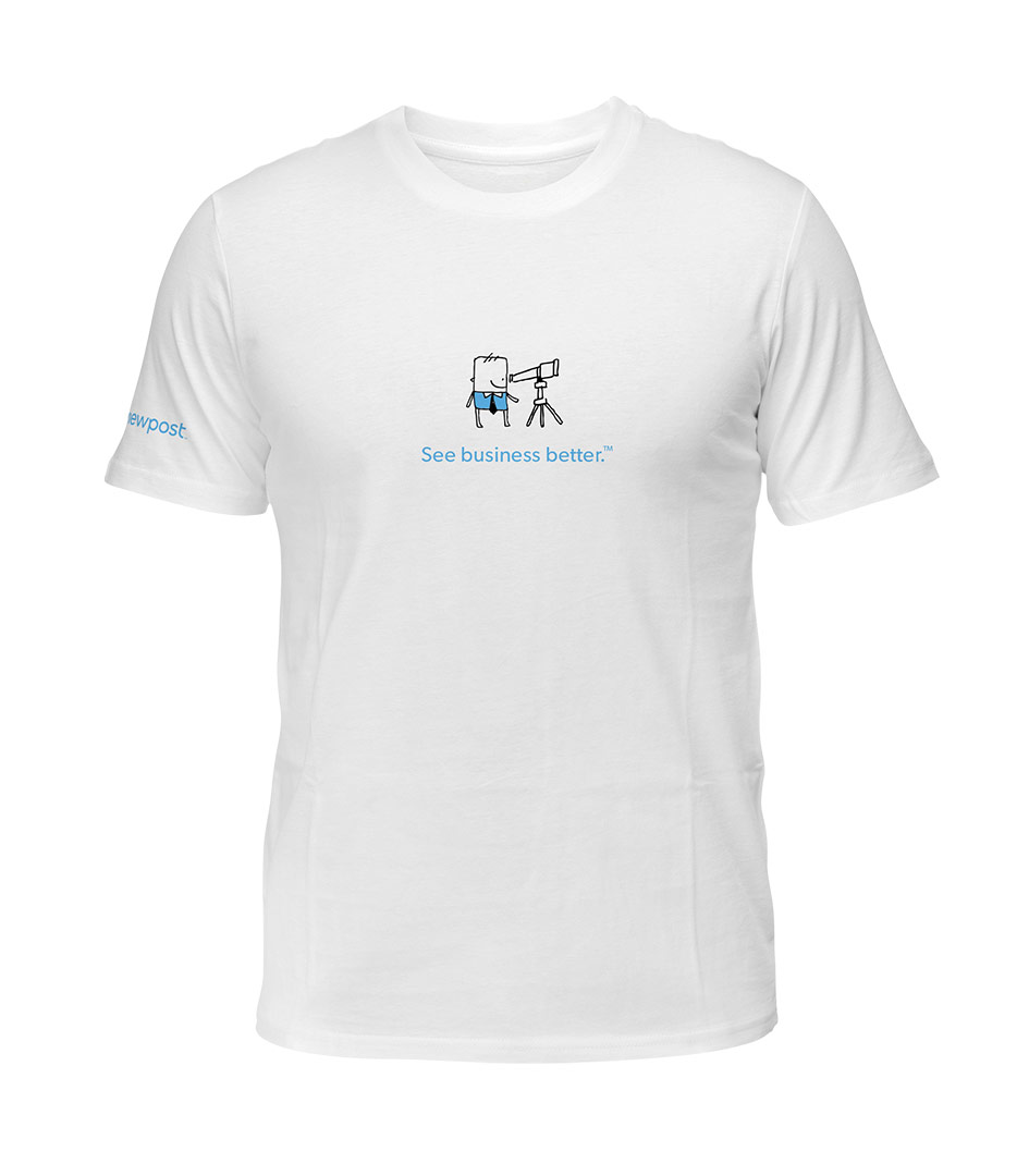 Viewpost-Shirt-White
